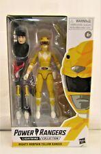 Power Rangers Yellow Ranger Lightning Collection Trini Figure Mib Hasbro Mmpr