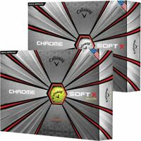 2019 Callaway Golf Chrome Soft X Graphene-Infused Dual SoftFast Core Golf Balls