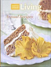 Marth Stewart Annual Recipes 2004 Hard Cover