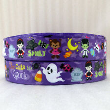 "Halloween/Spooky Ribbon 7/8"" Wide NEW UK SELLER FREE P&P"
