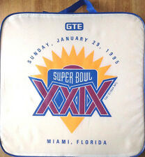PARTY W/SUPERBOWL 29 Cushion. San Francisco 49ers vs Chargers  MIAMI 1995