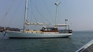 46ft hereshoff ketch