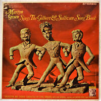 Martyn Green Sings the Gilbert & Sullivan Songbook LP ST NM Vinyl Mikado Pirates