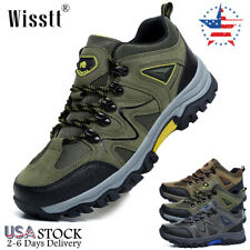 Men's Hiking Shoes Outdoor Trekking Sneakers Casual Sports Waterproof Work Boots