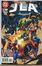 JLA 1997 series # 4 near mint comic book