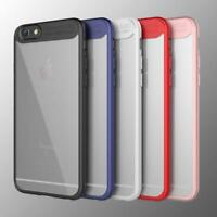 FUNDA CARCASA RÍGIDA + SILICONA BORDE COLOR IPHONE 7 / 8 / 7 8 PLUS / IPHONE X