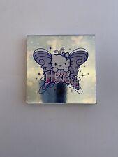 Hello Kitty Sanrio Memo Note Pad 100 Sheet Blue Butterfly Angel Rare Vtg 2002