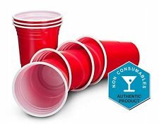 Party Cups American Style Red Solo Cup Disposable Tumblers Beer Pong Soft Drinks
