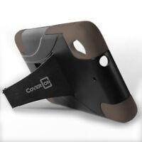 For HTC Desire 626 / 626S Case - Gray & Black Hybrid Impact Tough Skin Cover