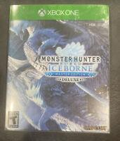 Monster Hunter World: Iceborne -- Master Edition Deluxe (Microsoft Xbox One,...