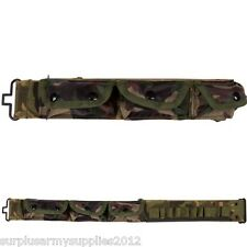 "MILITARY CARTRIDGE BELT UP TO 36"" WAIST POUCH MENS AIRSOFT HUNTING SHOOTING"