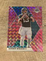 Gardner Minshew II 2020 Mosaic *PINK Prizm* SP No. 97 Jaguars 🐆🏈🔥