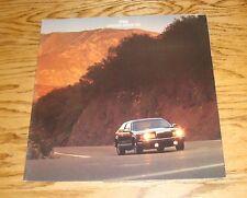 Original 1986 Lincoln Continental Mark VII Deluxe Sales Brochure 86