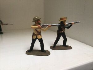 Frontier Light Horse. Anglo Zulu War. Armies in plastic toy Soldiers 54 mm