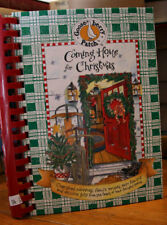 """Goose Berry Patch """"Coming Home for Christmas"""" Cookbook 1997 1st Printing Spiral"""