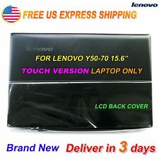 NEW Lenovo Y50-70 15.6 inch Top Lcd Rear Back Cover for Touch AM14R000300 US @^