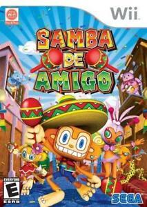 Samba De Amigo Nintendo Wii Game PAL