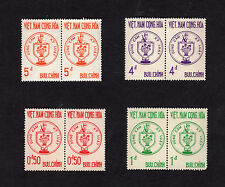 1963 RVN South Vietnam 2 Sets 8 Stamps Combatants of the Republic MNH Mi 292-5