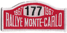 Rallye Monte Carlo Mini Cooper #177 embroidered patch