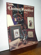 Christmas Remembered by Terrie Lee Steinmeyer (Leisure Arts Leaflet #508)