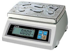 Cas Sw-50W Washdown Portion Control Scale 50Lbx0.02 Lb,Ntep,Legal For Trade
