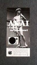 [GCG] L144- Advertising Pubblicità -1976- AKAI , L'ARTE NEI CAPOLAVORI