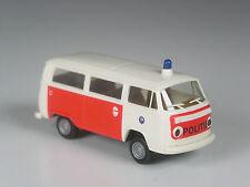 TOP: Brekina Holland VW T2 Kombi Politie Nederland Rotterdam in OVP
