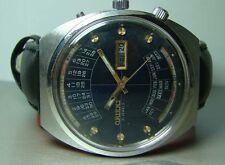 Reloj de Pulsera hombre VINTAGE ORIENT Automático Día Fecha Mes Semana año Y658 Antiguo Usado