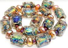 "Sistersbeads ""D-Cosmic"" Handmade Lampwork Beads"