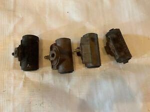 1964-1969 Chevelle Wheel Cylinders Lot of Four El Camino Monte Carlo Malibu