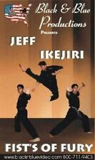 Jeff Ikejiri Fists of Fury Karate Tournament Hand Techniques Dvd kata forms