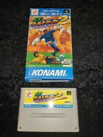 ⭐ JIKKYOU WORLD SOCCER 2 NINTENDO SUPER FAMICOM SFC SNES JAPAN JAP NTSC-J 🎌⭐