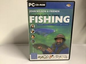 John Wilson & Friends Complete guide to coarse fishing pc cd-rom 2001