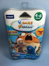 VTech VSmile Motion Monstruos Contra Alienigenas Spanish Cartridge Game New