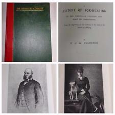 """1893 Cuir Bound Edition """"le WYNNSTAY Pays"""" dédié à Sir Williams-Wynn"""