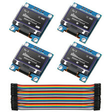 4pcs I2C OLED Module IIC SSD1306 128 64 LCD With Du-pont Wire 40-Pin for Arduino