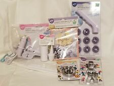Wilton Cake Decorating Fondant Supplies Cutter Ribbon Embosser Decorative Punch
