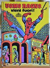 "Libro Animato ""Uomo Ragno vieni fuori! "" Ed. Mondadori 1981"