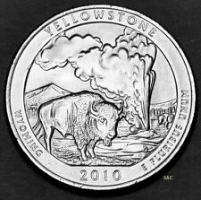 2010 P MINT -   Yellowstone National Park Quarter  (WY) Uncirculated Clad.