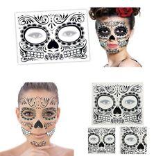 Halloween Day Of The Dead Dia de los Muertos Face Mask Sugar Skull Tattoo Pro