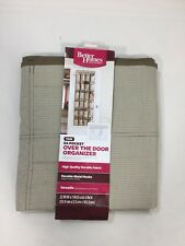 Better Homes 24 Pocket Over The Door Organizer 63 Inches 22 W Inches Brown