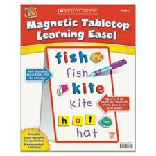 """Scholastic Magnetic Tabletop Learning Easel - 12.50"""" Width X 16"""" Height -"""