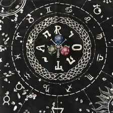49x49cm Art Tarot Pagan Altar Velvet Tablecloth Divination Table Cloth Decor