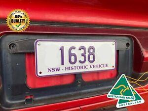 Historic Number Plate Mount Ford Holden Toyota Mazda VW Vintage