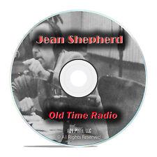 Jean Shepherd, Storyteller, talk radio, 447 Old Time Radio Show, OTR mp3 DVD G45