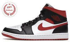 Jordan 1 Mid Gym Red Black White 554724-122 banned dutch lakers all star chicago