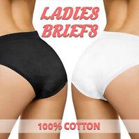 3 6 Pairs Womens Ladies Briefs Underwear Knickers Hospital Bundle Maternity Plus