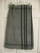Towel Wrap Bath Terry Cloth Shower Gym Sauna Spa Beach Cotton Gray Black Striped