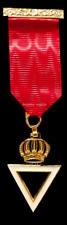 masonic regalia-ROYAL & SELECT MASTERS MEMBERS BREAST JEWEL (BRAND NEW)