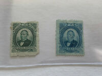 1879 Mexico Stamp Lot #126 #128 CA69